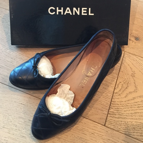 73% off CHANEL Shoes - ð??«SOLD Vintage Chanel Quilted Leather ... : chanel quilted shoes - Adamdwight.com