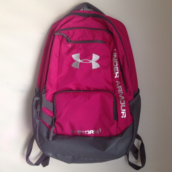 Pink Under Armour backpack. Storm 1 edition. M 55eba4b6291a35361100fc27 ca80dd3f7c904