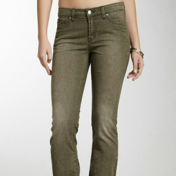 76% off Henry & Belle Denim - Designer boot cut Jeans Olive Green ...