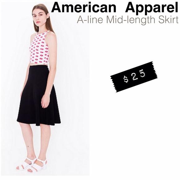 83 american apparel dresses skirts american