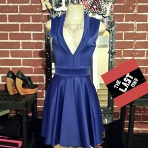 Royal blue skater dress*(last one)*nwot