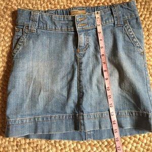 Old navy Maternity jeans mini skirt