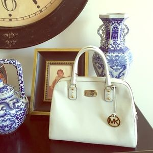 White Michael Kors Tote SALE!!!