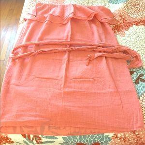 J crew Peach summer dress