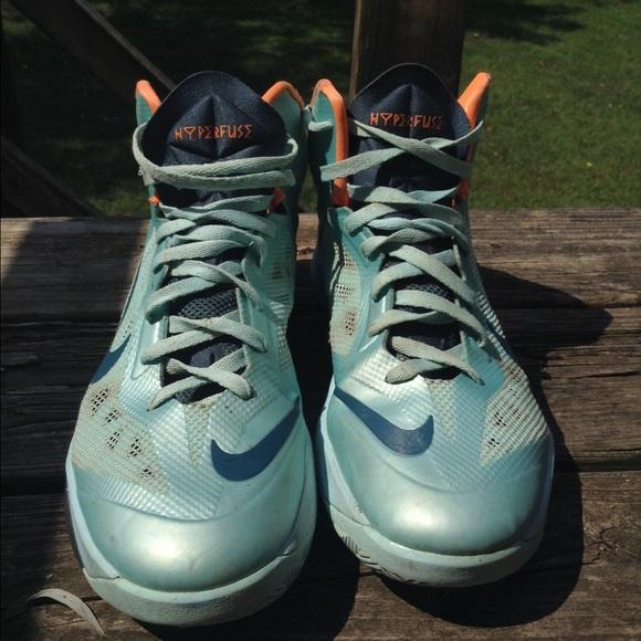 najlepsze podejście klasyczne style Cena fabryczna Nike HyperFuse Basketball Shoes Blue/Orange