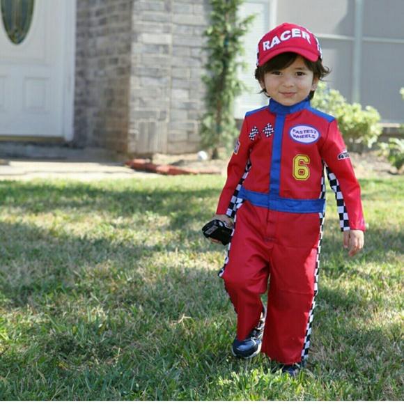 halloween race car costume kids