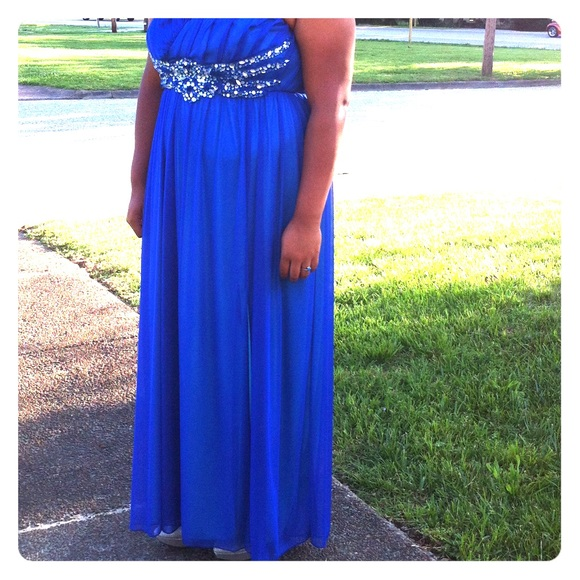Deb Dresses | Prom Dress Royal And Light Blue | Poshmark