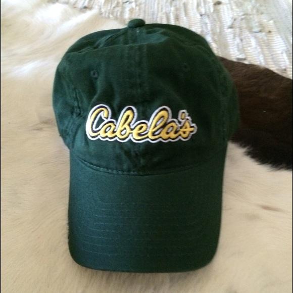 Cabelas Hats Caps: Dark Green Cabela's Baseball Cap