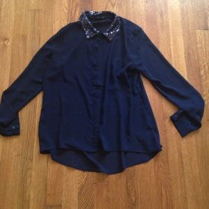 Forever 21 collared shirt