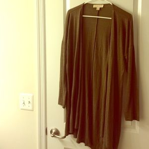 NWOT Michael kors long cardigan