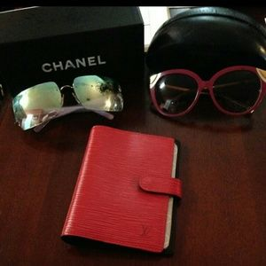 Authentic louis vuitton sunglasses and chanel