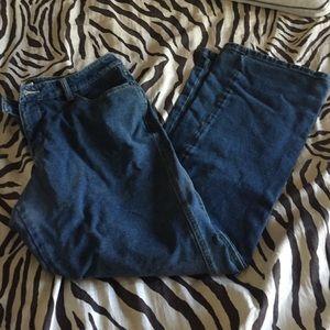 Coldwater Creek Sweatpants Jeans - 12 petite