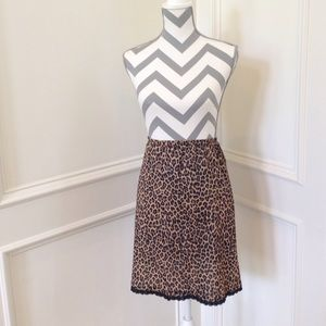 Cheetah/Leopard Skirt