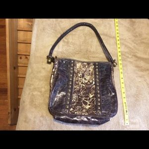 8923e5a6f3c4 Ed Hardy Bags - Ed Hardy 7829 Melrose Brown   Gold Bag