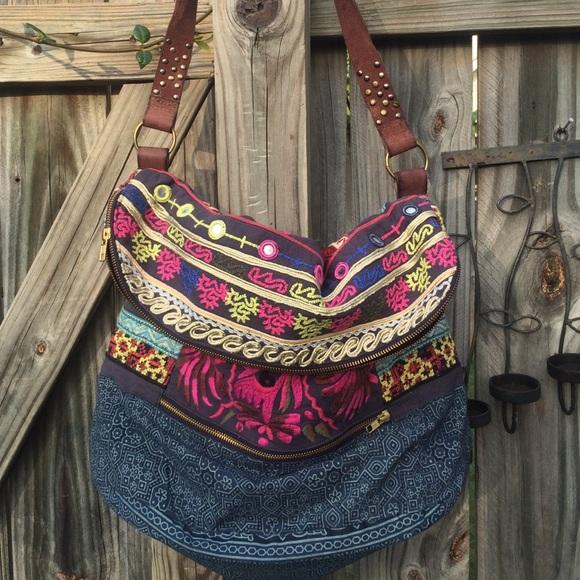 99b2e81e18 Free People Handbags - Free People - Indian Summer Hobo Tote