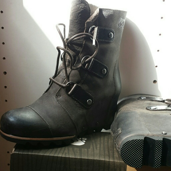 23d52767470f Sorel Joan Of Arctic Wedge Mid Boot Waterproof