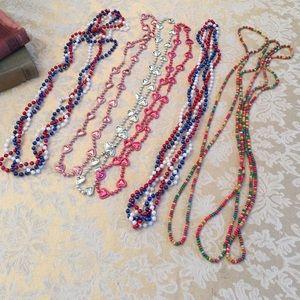 "16"" fun bead necklaces"