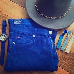 Hudson Jeans Pants - Hudson Jeans Krista Super Skinny Jean in Blue 29