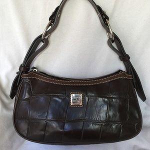 Dooney & Bourke Croco Embossed Leather Hobo
