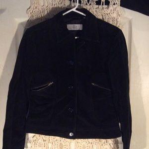 Black Suede DKNY City jacket PRICE FIRM