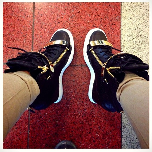 a3a7e183cbf Giuseppe Zanotti Shoes - Giuseppe wedge sneakers