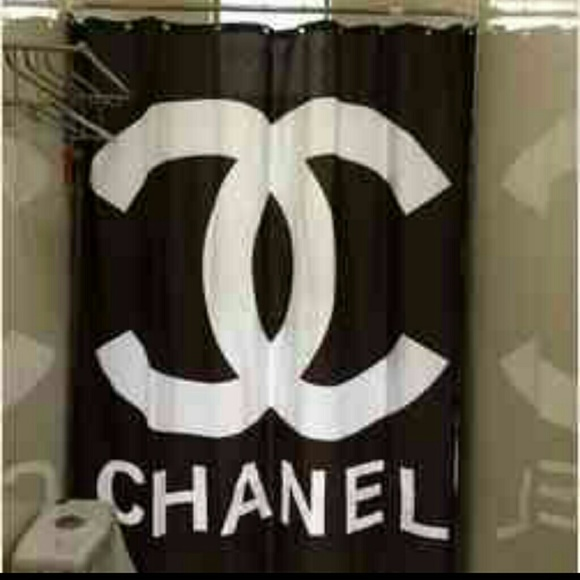 Chanel Shower Curtain Os From Candace S Closet On Poshmark