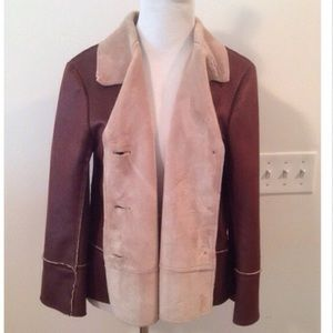 Velvet Jackets & Blazers - 🆑 Velvet Brand Cozy Brown Jacket