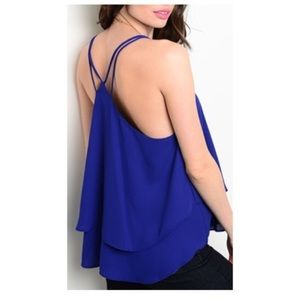 ✨LAST ONE✨Royal Blue Top