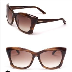New Tom Ford Lana Brown Sunglasses!