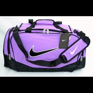 Nike Purple Duffel Bag