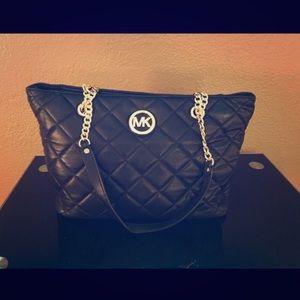 65% off Michael Kors Handbags - Michael Kors Fulton Large Leather ... : michael kors fulton quilted tote - Adamdwight.com