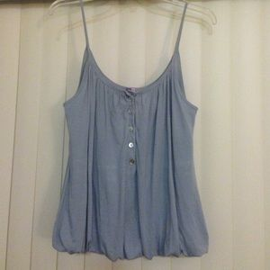 Light Grey Cotton Tank Top- Size S