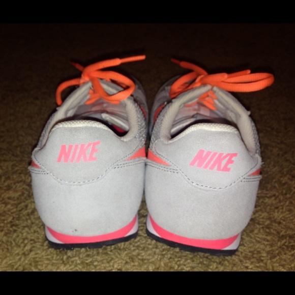 Bright Coral Shoe Laces