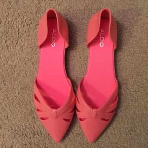 Perfect Pink Jelly Shoes from #Aldo 8.5