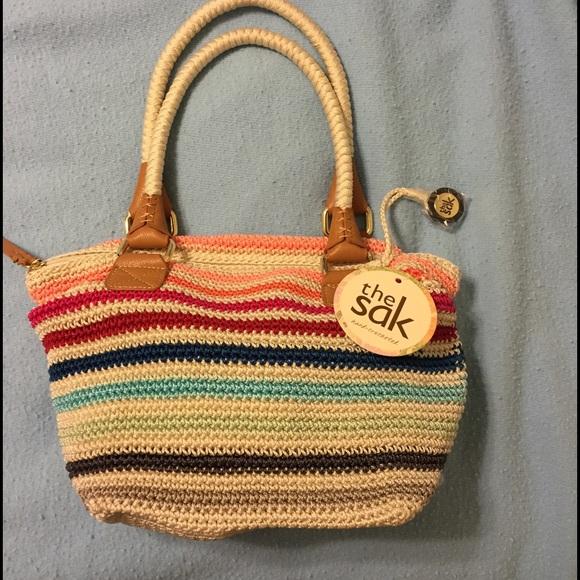 The Sak Bags Hand Crocheted Handbag By Poshmark