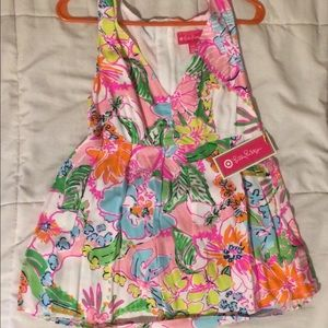 Lilly Pulitzer for Target nosey posey tank top