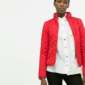 Zara quilted jacket (0518)