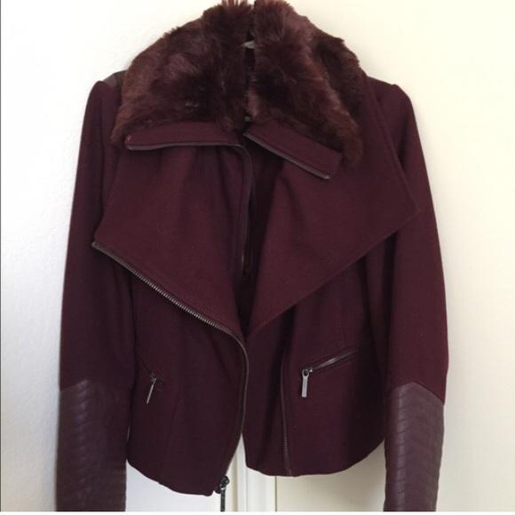 Gorgeous burgundy jacket by BcBg!