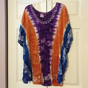 India boutique Tops - Colorful top