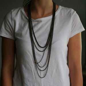 American Vintage Jewelry - Layered statement necklace