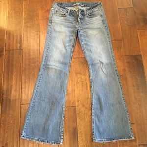 53% off American Eagle Outfitters Pants - AE hipster flare jeans ...