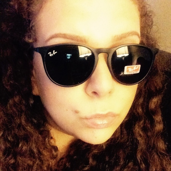 4eb9cdaa6e Ray-Ban Erika Black Sunglasses--New