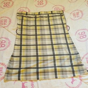 Rave Tops - Plaid Clueless style tube top