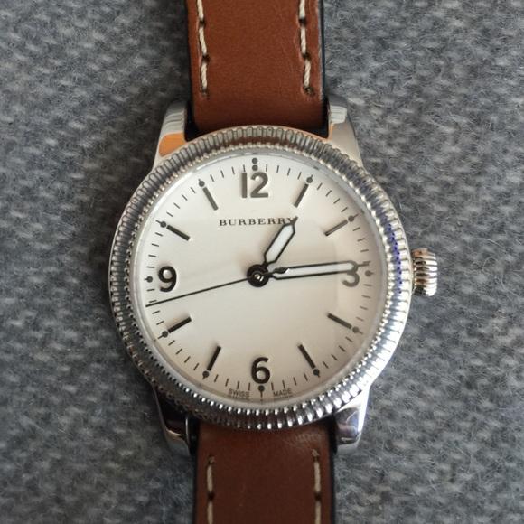 Burberry utilitarian double wrap watch NWOT 9b7a85fa9a3