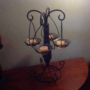 Party lite other candle holder chandelier poshmark party lite other candle holder chandelier aloadofball Image collections