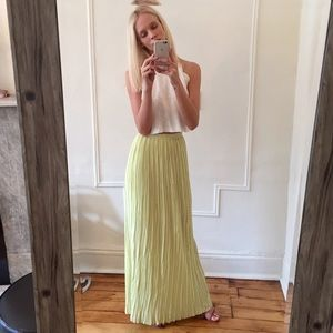 Alice + Olivia Dresses & Skirts - alice + olivia for scoop lime maxi skirt