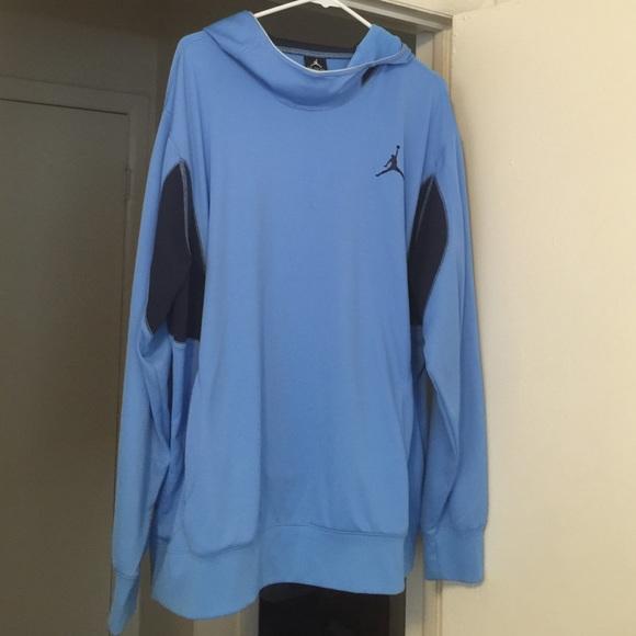 Jordan Jackets Amp Coats Baby Blue Hoodie Poshmark
