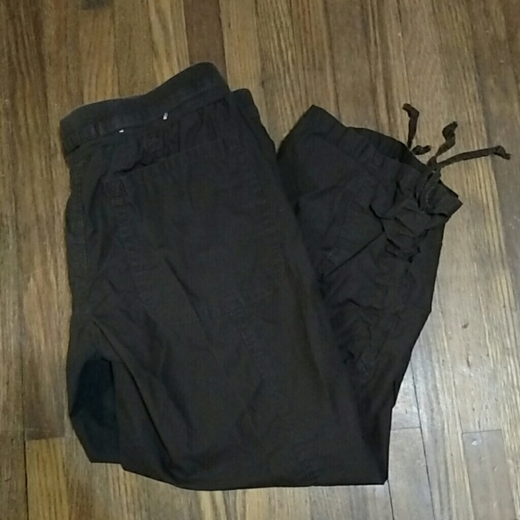 75% off GAP Pants - Dark brown Capri pants from Anna's closet on ...