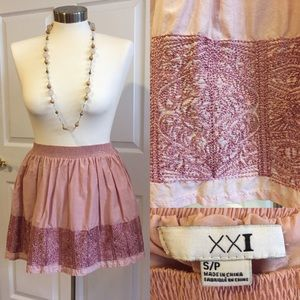 Light Pink/ Mauve Skirt