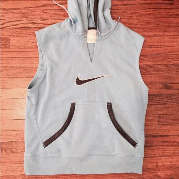 047dfad8fc24 Nike Sweaters - Hooded Nike cutoff sweatshirt